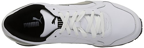 Puma St Runner Full L, Baskets Basses Mixte Adulte Bianco/Limestone Gray