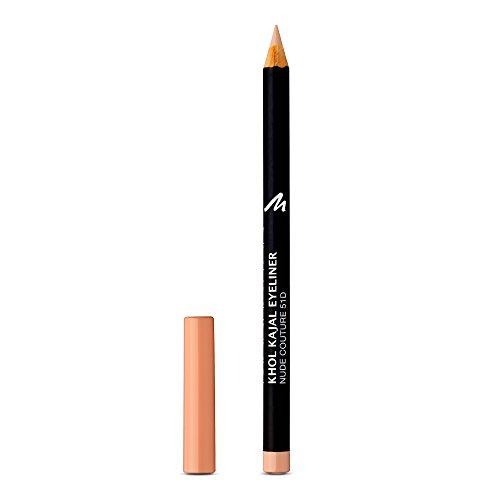 Manhattan Khol Kajal Eyeliner, Nude Kohle-Kajalstift für strahlend große Augen, Farbe nude couture 51D, 1 x 1,3 g