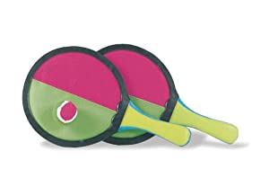 The Toy Company Sun & Fun - Juego de Palas con Velcro para la Playa Importado de Alemania