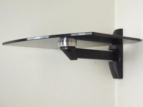 Invision 174 Ultra Modern Wall Mounted Glass Shelf Set Of 2
