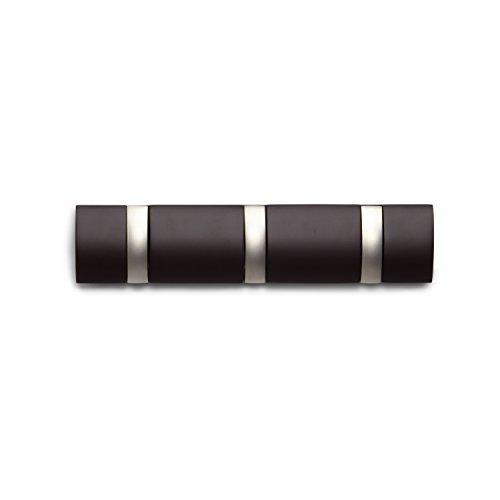 Preisvergleich Produktbild Umbra 318853-213 Flip Garderobenhakenleiste mit 3 Haken Espresso