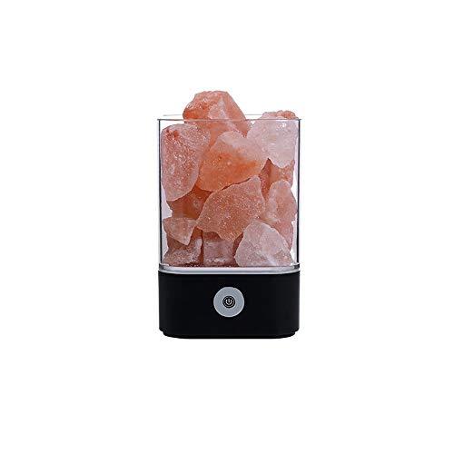 Abgail Salz Lampe Himalaya Kristall Salz Lampe Natürliche Negative Ionen Salz Lampe Kreative Gesundheit Laterne Geschenk Licht Nacht Ventil Schlafzimmer Tube Nachtlicht Geburtstag Brenner Geschenk Lam -