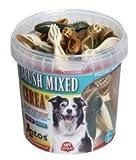ANTOS Misto Spazzole Vegetale Base Snack da Masticare per Cani (50 da Masticare