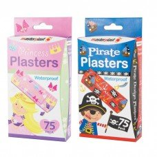 150-waterproof-plasters-2-packs-75-princess-75-pirate