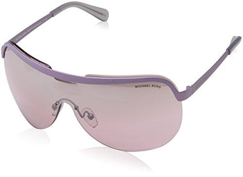 Michael Kors Unisex-Erwachsene Sonnenbrille Sweet Escape, Schwarz (Matte Lavender 11387e), 30