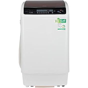 Haier 7.2 kg Fully-Automatic Top Loading Washing Machine (HWM72-1128NZP, White)