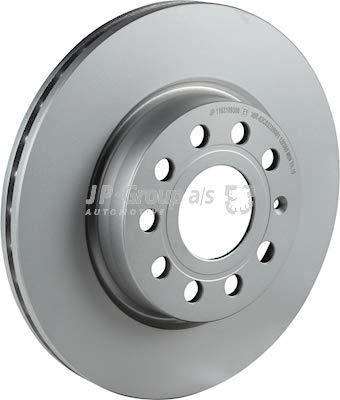 JP GROUP 1163109300 Bremsscheibe Scheibenbremsen, Bremsscheiben Vorne (x2)