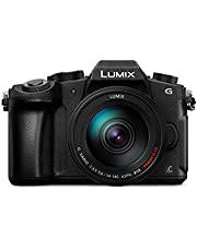 Panasonic DMC-G85H Lumix G Vario 14-140mm/F3.5-5.6 ASPH Lens, Mirrorless Camera
