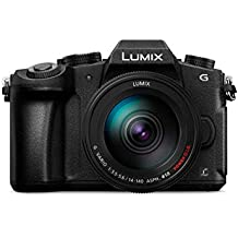 Panasonic DMC-G85H Lumix G Vario 14-140mm/F3.5-5.6 ASPH Lens, Mirrorless Camera with case