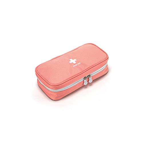 Pulver Erste Hilfe (medikamenten box hausapotheke,Ausrüstungsreise der Familie im Freien Erste-Hilfe-Ausrüstungsauskunft des medizinischen Baus des tragbaren Erdbebens medizinische,orange Pulver)
