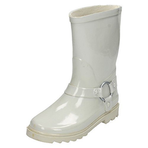 Spot On Childrens/Kids Plain Ring Trim Wellington Boots