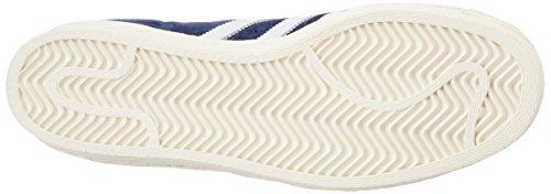 Adidas Superstar 80s Dlx Suède Originals B35988 Sneaker Schuhe Chaussures Herren Hommes Collegiate Navy / Vintage Blanc / Or
