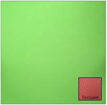 Bulk Buy  American Crafts Texturosso cardstock 30,5 cm cm cm x12-grass (pezzi) | Design Accattivante  | Bella E Affascinante  | Aspetto Gradevole  8e5797