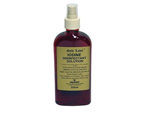 Gold Label – Iodine Disinfectant Spray