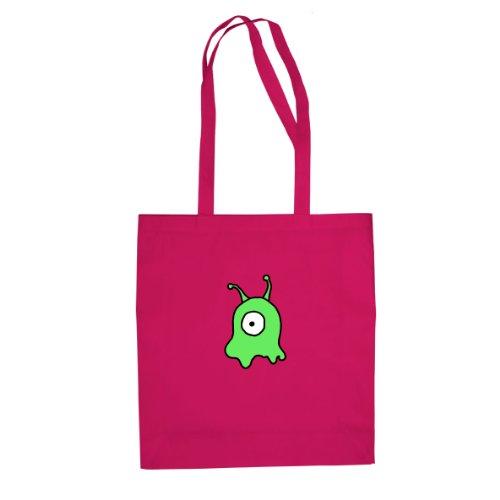 Gehirnschnecke - Stofftasche / Beutel Pink