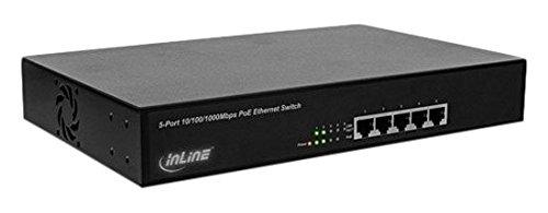 igabit Netzwerk Switch 5 Port (4X PoE+), 1GBit/s, 11