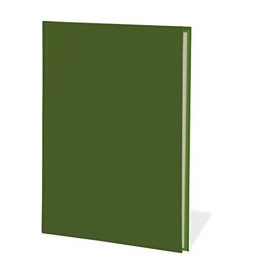 Preisvergleich Produktbild Semikolon Notizbuch Classic B5 blanko irish (dunkel-grün) | Notiz- und Sketch-Buch Hochwertiger Buchleinenbezug | 400 Seiten mit cremeweißem 100g/m²- Papier | Lesezeichen