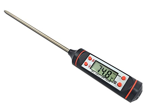 R-TEK® Digital Lcd Cooking Food Meat Probe Kitchen Bbq Thermometer Temperature Test Pen| Instant read|