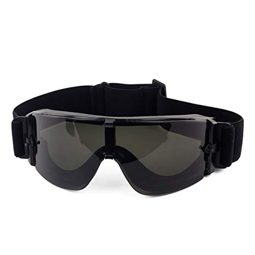 Kongqiabona Black Tan Green Airsoft Tactical Brille USMC Tactical Sonnenbrille Brille Army Airsoft Paintball Brille