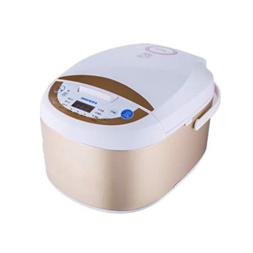 Mysida Smart Kleine Multi-Funktions-One-Touch-Bedienung Elektrische Reiskocher 5L Eintopf Steam Pot Suppe Brei Kuchen Joghurt Machen (Farbe : B)