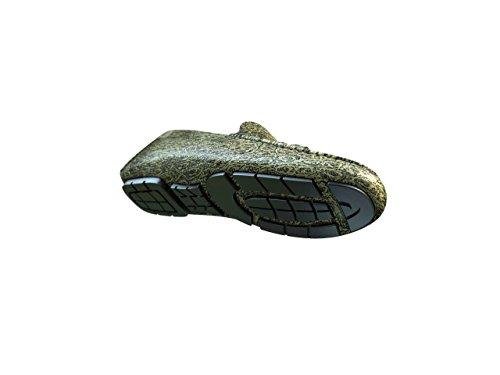 DIS Chaussures Sur Mesure - Mocassin - Homme autruche Or