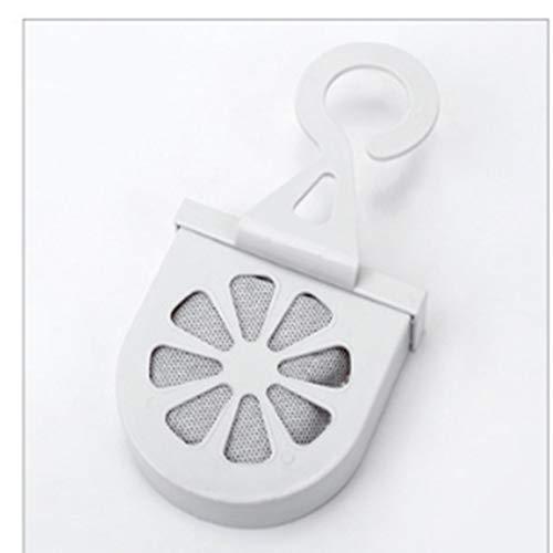 huixi Contenitore per Deodorante in Carbone di bambù, da Appendere, per Uso Domestico, Deodorante, al Carbone Attivo, deodorato, Grigio Chiaro