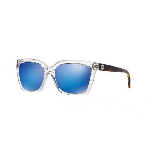 Michael Kors Unisex MK6016 Sandestin Sonnenbrille, Weiß (Crystal 305025), One size (Herstellergröße: 54)