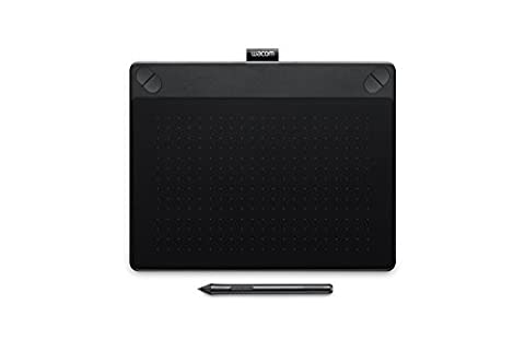 Wacom Intuos 3D - Tablette Graphique à Stylet - Pen & Touch - Noir - Medium