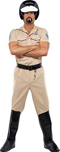 Imagen de smiffy's  disfraz de policía para hombre, talla l 36237