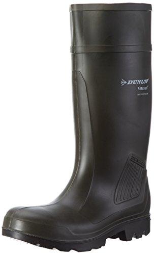Stivali da lavoro Dunlop Purofort professionale completa sicurezza verde scuro / nero, S5 - 42 - C462933