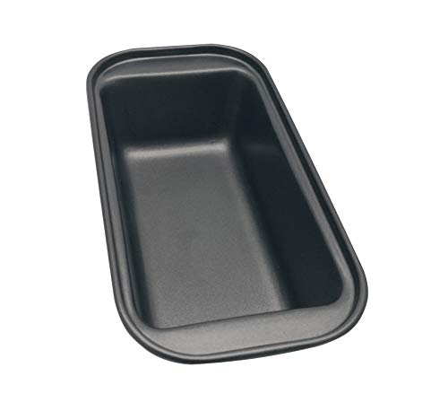 excelity® Rechteck Antihaft-Toast Brot Kuchen Backformen Kastenform Größe S schwarz Non-stick Meat Loaf Pan