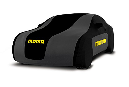 Momo CC1ML Autos Schicht bedeckt 001, Größe M Farbe Schwarz/Grau
