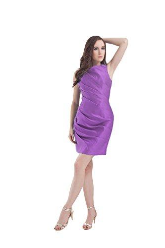 Bridal_Mall -  Vestito  - Senza maniche  - Donna Viola chiaro