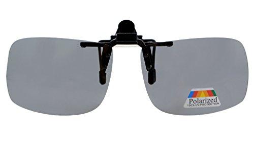 Eyekepper Sonnenbrillen-Clip fuer Brillentraeger Grau