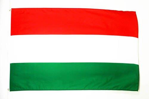 DRAPEAU HONGRIE 150x90cm - DRAPEAU HONGROIS 90 x 150 cm - DRAPEAUX - AZ FLAG