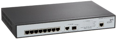 3com-ethernet-router (3Com 3CRDSF9PWR OfficeConnect Managed Switch 8pte10/100 PoE+1)