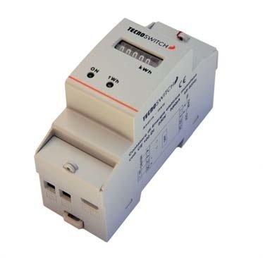 CONTATORE ELETTRONICO DI ENERGIA ELETTRICA MONOFASE - ELECTRONIC SINGLE PHASE