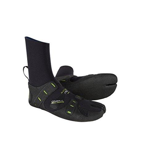 2017 O'Neill Mutant 3mm Split Toe Boots 4793 Boot/Shoe Size UK - Uk Size 11 (Toe Split Boots Wetsuit)