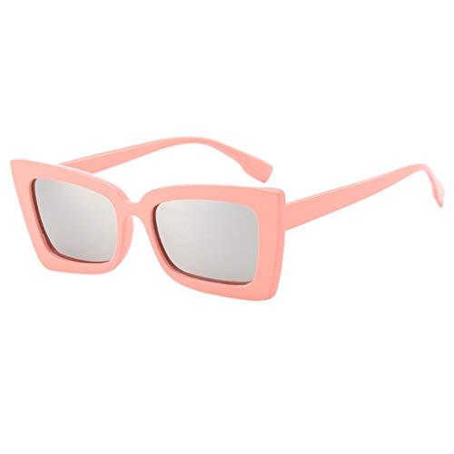 iYmitz Sonnenbrille Unisex, Unregelmäßiges Auge für Erwachsene Retro im Klassiker Stil Mode Strahlenschutz Mode Sonnenbrillen(Mehrfarbig,E)