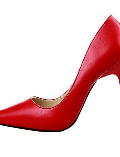 WSS 2016 Chaussures Femme-Extérieure / Bureau & Travail / Soirée & Evénement-Noir / Jaune / Rose / Rouge / Argent / Gris / Fuchsia-Talon Compensé- pink-us5 / eu35 / uk3 / cn34