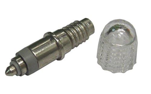Preisvergleich Produktbild Schwalbe 3361 Ventileinsatz DV für Airmax Luftdruckprüfer V006 mit Staubkappe,  silber (1 Stück)