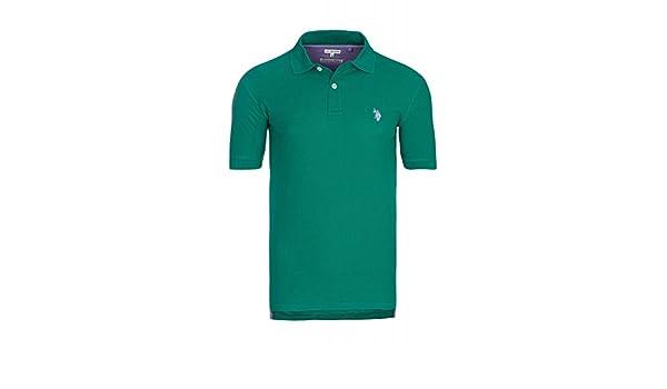 Polo Assn taglia M S//S Shirt 197 42607 51887 148 U.S Polo da uomo colore: Verde