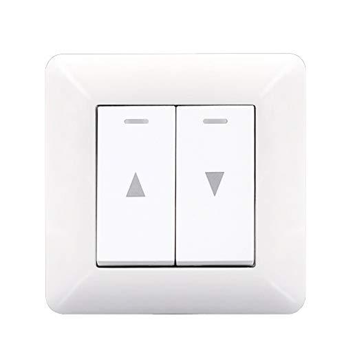 r Automatischer Resetter Elektrischer Vorhang Knopf Typ 86 Typ Hub Schalter Roll Laden Schalter ()