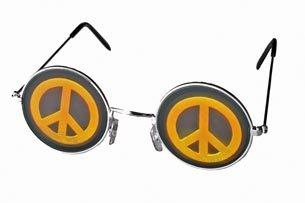 Peace Brille - Brille Hologramm,