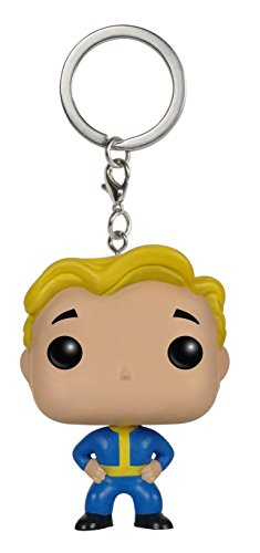 FunKo 023193 Pocket Pop Fallout Vault Boy Keychain (Center Dc Herren)