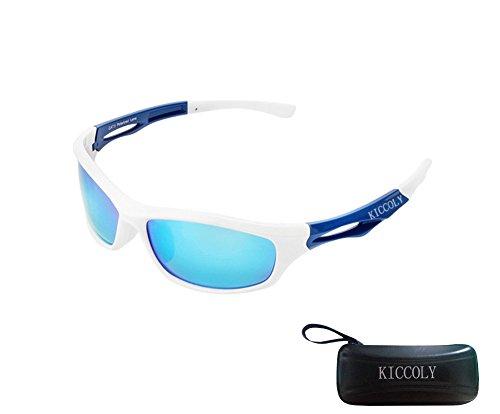 KICCOLY Gafas de Sol Deportivas Polarizadas para Hombre Esquiar para H