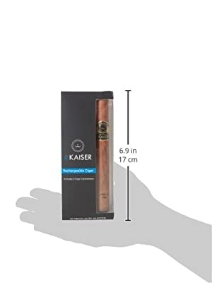 Electronic Cigar | Rechargeable E Cigar | 3 x Gold Cigar Flavour Ecigar | e Shisha Kit | Electronic Cigarette | USB Charging from eKaiser