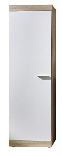trendteam Smart Living Garderobe Garderobenschrank Schrank Lucy, 58 x 194 x 34,5 cm in Korpus Eiche...