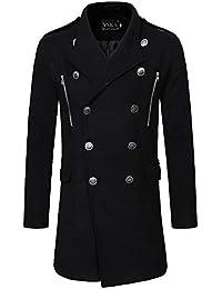 Amazon.it  doppiopetto uomo - Cappotti   Giacche e cappotti ... 6ed337474b6