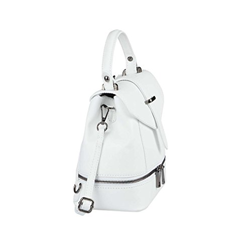 OBC Only-Beautiful-Couture, Borsa a zainetto donna blu Hellblau ca.: 22x23x12 cm (BxHxT) bianco